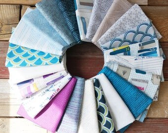 WINDHAM Literary Full Collection Bundles, Fat 8th Bundle, Fat Quarter Bundle, Half yd Bundle, 1 Yard bundle, Heather Givans