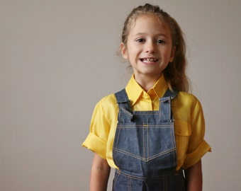 NOS, 1970s Country Denim Overalls >>> Size 3t, 4t, 5t or 6