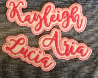 Sew on Name Patch - Made to Order