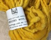 Yellow Mini Hank Merino Chunky Yarn