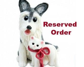 Reserved Order forpatrickbrooke1 Christmas Ornaments Porcelain