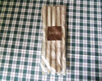 Vintage Neiman - Marcus Ladies Light Tan Suede Gloves Size 6 Still in Package