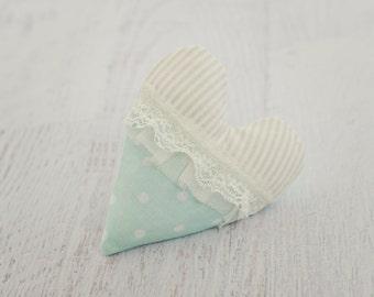 Valentine Heart Prop // newborn photography // baby photos // stuffie prop // lovie prop // newborn valentine prop // shabby chic heart