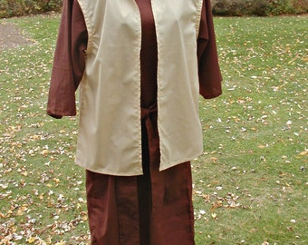 Costume Robe and Vest Size Small