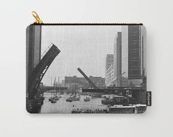 Chicago River Bridges Photo Carry All Pouch