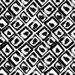 Black and White Home Decor Fabric - Ethnic Grunge Ornament By Holaholga - Modern Black and White Cotton Fabric By The Yard With Spoonflower