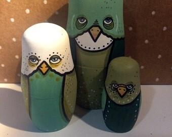 Freebird Nesting Dolls