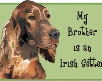 Irish Setter bodysuit, Irish Setter Tee, baby clothes with Irish Setter, Dog lover gift, Baby shower gift