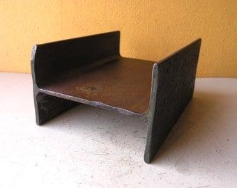 Metal Desk Tray Mail Holder Industrial Mini Shelf Black Desk Storage Industrial Office Organizer Mens Gift Coffee Table Remote Holder Ibeam
