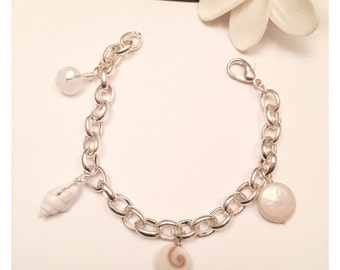 Sea Treasure Charm Bracelet