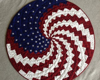 A New Spin on Old Glory Wall Quilt Kit