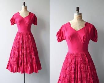 Amoretta dress | vintage 1950s dress | cotton 50s dress