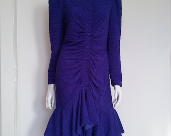 Vintage 80s Party Dress Size Medium