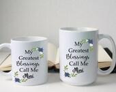 Custom Coffee Mug, Custom Quote Tea Mug, Christmas Gift, Personalized Mugs, Grandmother Mug, Mimi Mug