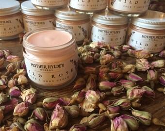 Mother Hylde's Wild Rose Cream for face & body