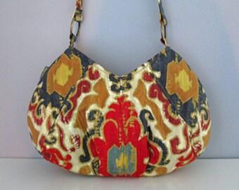 Small Shoulder Bag, Brown Purse, Brown Shoulder Bag, Pleated Purse, Small brown purse