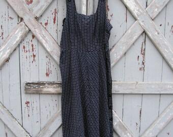 1950s Korell Juniors Plus summer dress S M