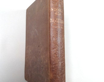 Story of the War in La Vendee and the Little Chouannerie, George Hill, New York, (1856). illustrated. Very rare book.  French Revolution