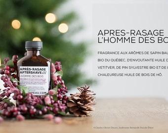 Natural vegan aftershave  ///  Après-rasage naturel