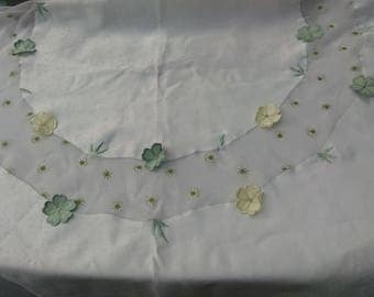 Scalloped Tablecloth Etsy