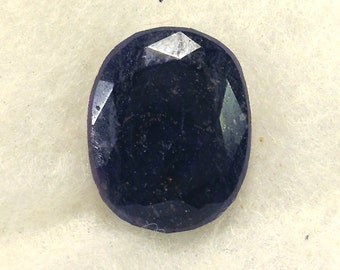 42.5 carat  ...  faceted sapphire gemstone ... 22 x 19 x 7 MM