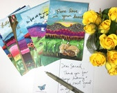 Postcard Pack of 10 : Gratitude Grows- Size 4x6- #311-GK
