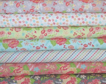 Lulu Lane Half Yard Fabric Bundle -  Moda - Corey Yoder