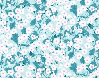 Liberty Fabric Mitsi X Exclusive Mint Tana Lawn Fat Quarter