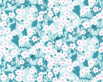 Liberty Fabric Mitsi X Exclusive Mint Tana Lawn One Yard