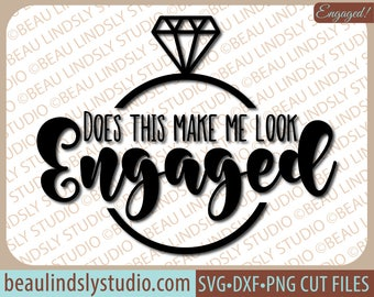 Future Wife SVG, New Fiance SVG Cutting File, Bridal Shower Gift Idea SVG File For Silhouette, Engagement Announcement svg File For Cricut