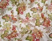 "Jacobean Print Fabric on Damask Cotton 2 Yards x 56"" Wide by MillCreek Fabrics"