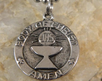 Body of Christ  My First Holy Communion Necklace