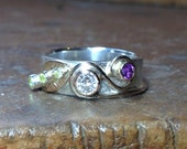 BALANCE FOR bespoke remodelled / recycled silver ring.