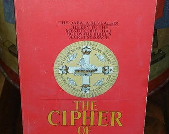 The Cipher Of Genesis by Carlo Suares Vintage Paperback Book