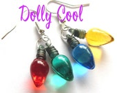 Stranger Things Earrings Christmas Light Bulbs by Dolly Cool Holidays 2