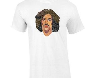 Prince Lyrical Calligram Memorial T-Shirt