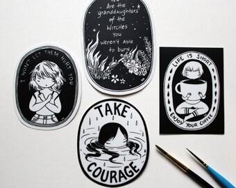 Pick 3 Vinyl Stickers