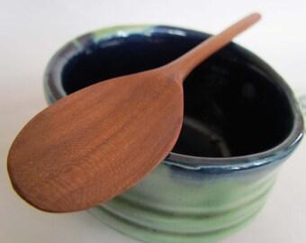 Eco Hardwoods reclaimed Golden Delicious Apple wood Tasting Spoon
