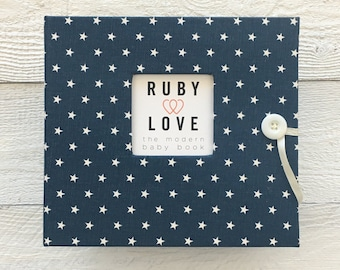 Mini Navy Star | BABY BOOK