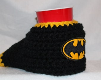 Ready to ship - Batman Drink Mitt  - The mitten with the drink holder