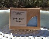 Light Blue Soap - Light Blue type scent - Designer Scent Soap - light blue perfume type soap