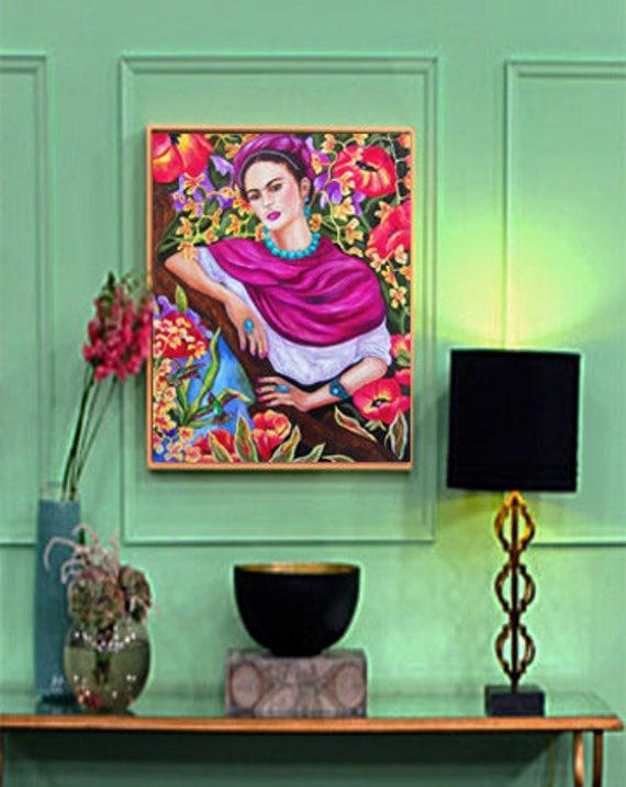 frida kahlo frida kahlo kunst frida kahlo kunstdruck. Black Bedroom Furniture Sets. Home Design Ideas