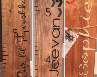 Engraved ADD ON - Custom Name for Growth Chart