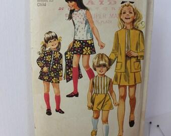 1960s Girl's Pantskirt with Detachable Panel, Skirt, Blouse and Jacket