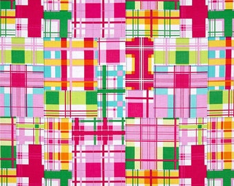 Michael Miller Fabric Madras Patch Happy, Choose your cut