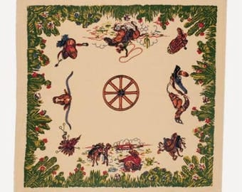 Home On The Range Tablecloth