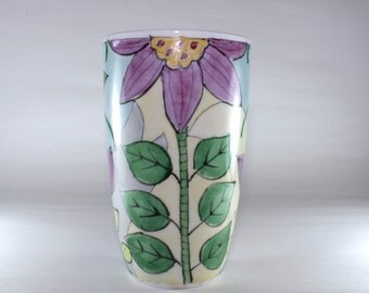 Tall Latte Mug, Handpainted, China Painted SKU172-3