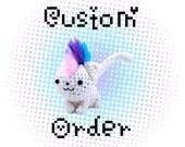 Custom Cockatiel Amigurumi