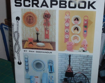 Macrame Scrapbook by Pam Gochanour Quality Craft Instructions  PD 1151