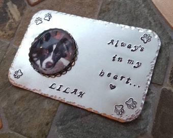 Pet Magnet - Favorite Pet or In Remembrance - Fur Baby - Custom Photo - Personalized - Special Saying